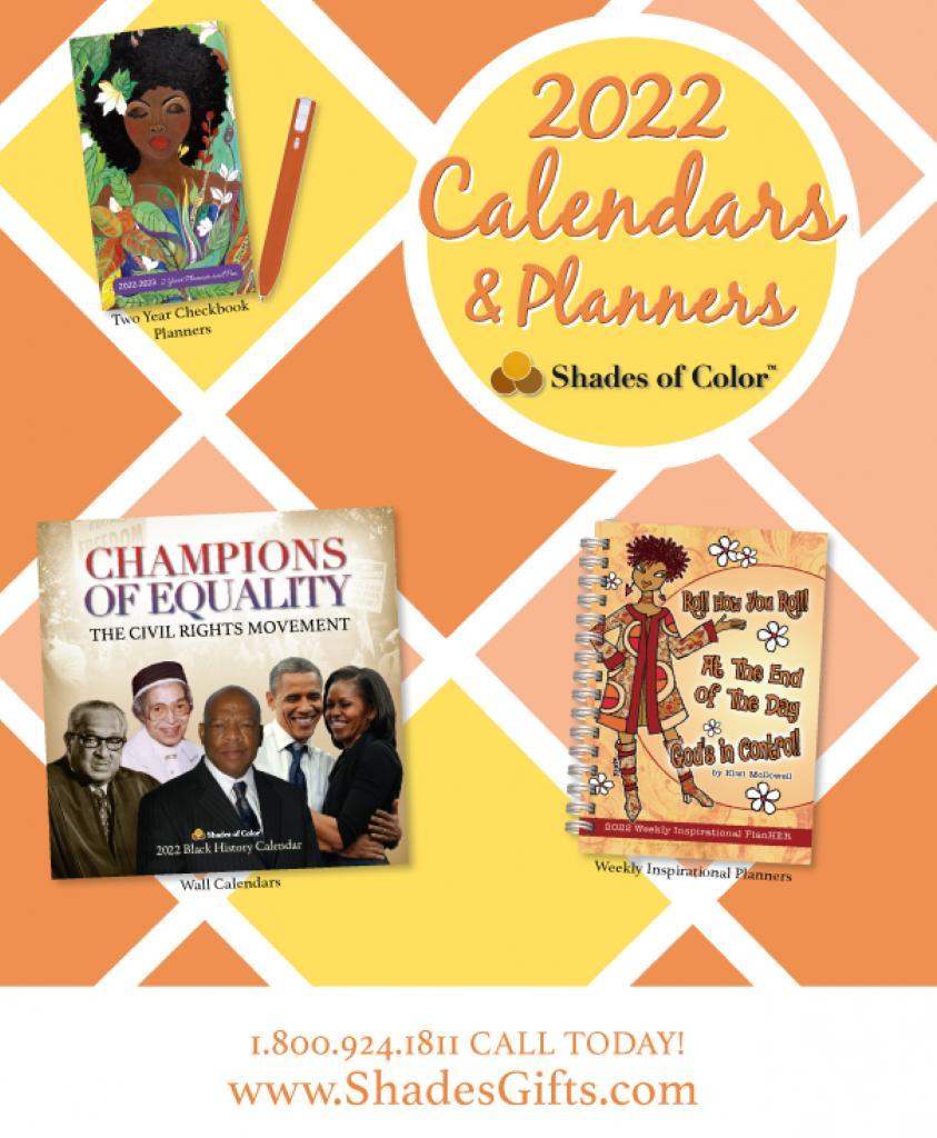 2022 African American Calendars & Planners