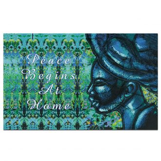 Shades of Color Dare 2 Be Different IFM122 Interior Floor Mat