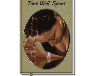 Time Well Spent Large Cloth Journal