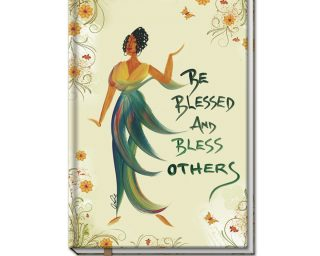 Be Blessed And Bless Others Large Cloth Journal
