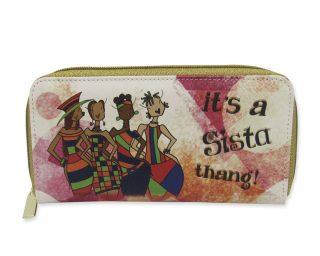 Sista Thang Long Wallet