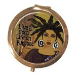 Live A Good Life On Purpose Magnifying Mirror