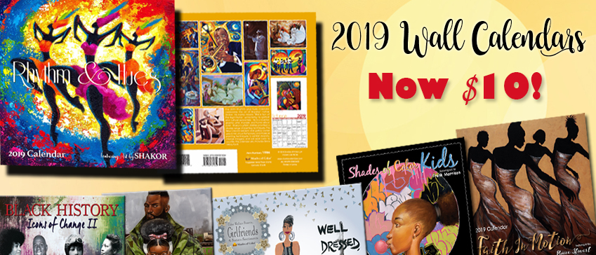 New 2019 Calendars Shipping ROTATING- Reduced