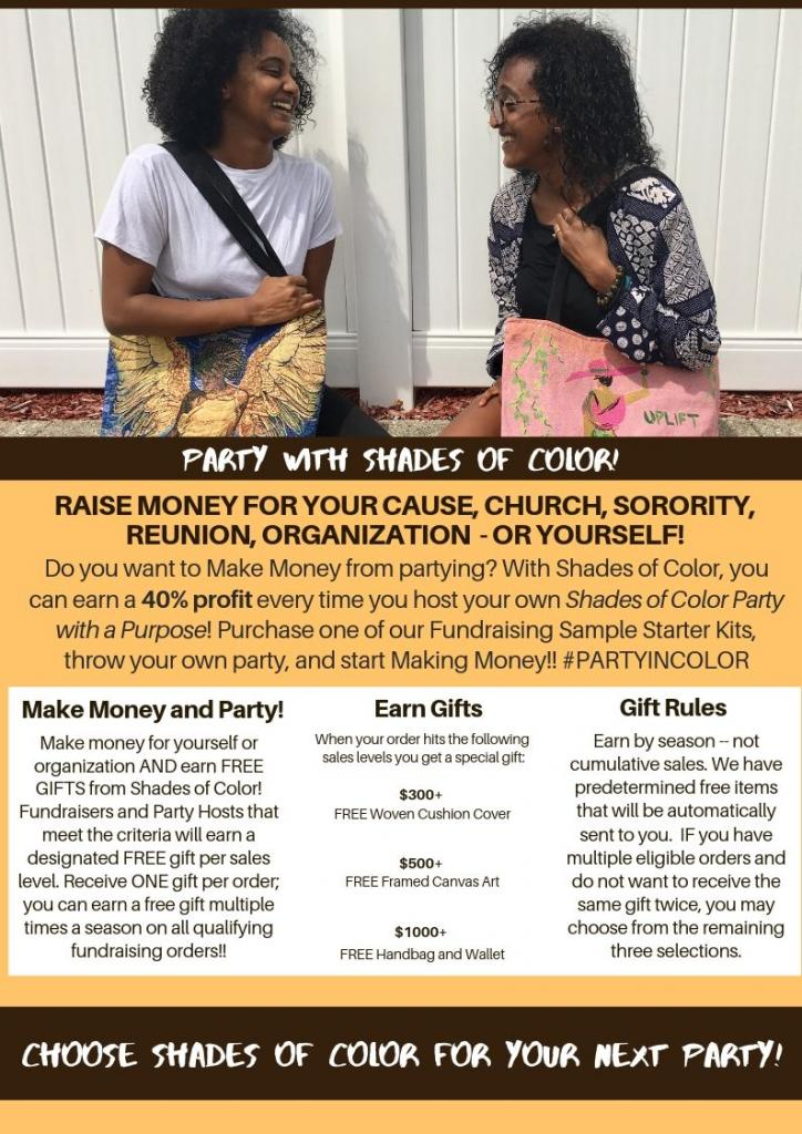 Shades of Color Party with a Purpose