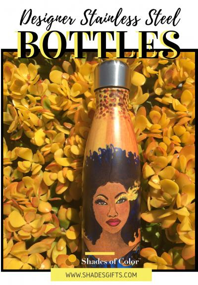Stainless Steel Bottle Brochure - Shades of Color