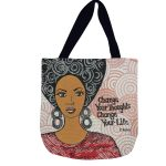 Change Your Thoughts, Change Your Life Woven Tote Bag