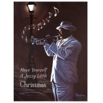 Jazzy Christmas African American Christmas Cards